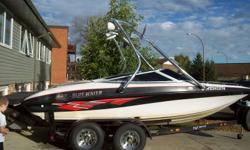 """Boat for sale or trade   Size: 19 1/2 feet New motor in 2007 5L Volvo Pentera 225 hp     CD/Radio player New 8"""" Tower Speakers & 600 watt amp Taking offers at this time."""