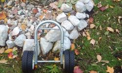Stern dolly for moving up to 16 Ft aluminum boat. Used once or twice, excellent condition