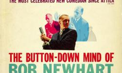 Eight sixties albums, all on Warner Bros. Records: The Most Celebrated New Comedian Since Attila The Button-Down Mind Strikes Back Behind The button-Down Mind The Button-Down Mind On TV Bob Newhart Faces Bob Newhart The Windmills Are Weakening The Best Of