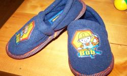 BOB THE BUILDER slippers New never warn. Size 7-8 and from a smoke free home