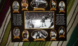 this plaque has Bobby Orr's career highlights asking $40 OBO