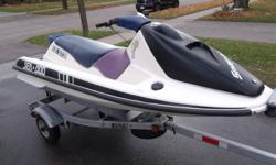 Bombardier SeaDoo GTS. Recently bought a cottage and this came with it. Don't know what year (was told maybe 1996) and don't know the condition of the motor. Over all it seems to be in a good shape. NO TRAILER   Best offer will take it