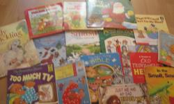 Lots of books to choose from ! :D paid well over 30 $ for the collection through Scholastic and book fairs over the years . Very gently used. All great shape and condition .