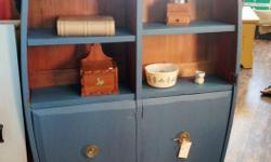 Vintage upstyled bookshelves from $99 with some on sale at ReLoving Furniture, 101-751 Goldstream Station Plaza