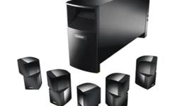 BOSE Acoustimass 15 Series II Home Entertainment Speaker System - 600$ - Great sound. Used for 6 months - Great condition. Still have manuals for it. Also for Sale: Sony 7.1 Channel A/V Receiver - STR-DN610 - 200$