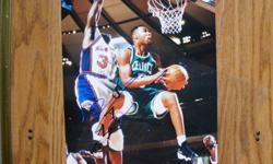 """""""Boston Celtics"""" Autographed Photos I have for sale the following """"Boston Celtics"""" 8x10 Autographed full-color photos in MINT condition. Price $20. (each) + Ron Mercer - In a game-action photo wearing his green, with white trim Boston Celtics uniform."""