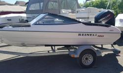 Reinell 160 br by Campion with Mercury 90 hp 4 stroke EFI Galvanized Trailer Stereo / gauge package/ rear Ladder bow and cockpit covers new unit with 5 year warranty