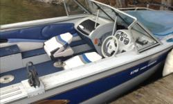 """1996 princecraft with 2000 evenrude 115 also 55 lb min kota electric with co pilot. Also comes with trailer with 2"""" hitch. I have 2 extra seats also 1 downrigger. Also comes with 1 fish finder and 2 rod holders. Boat needs new tarp and a few minor things."""