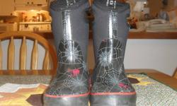 Retailing for approximately $80.00 in stores, the Bogs® Classic High Spiders are waterproof and ready for anything. Constructed with durable hand-lasted rubber for optimal comfort. Insulated with 7mm waterproof Neo-Tech and Aegis anti-microbial odor