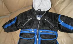 Boys CLIMATE CONTROL winter jacket / with hood size 3T Color - BLack / Blue WARM Great condition ONLY $10 Can meet in west end of Ottawa (Kanata) or pickup in Constance Bay