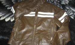 For Sale   725 original lined brown fall jacket size small 7/8   rarely used, really good condition   asking 20.00   contact 979-6481 341-3390 will not take $5.00. I bought this for my son but had it packed away, so he only got to wear if a few times,