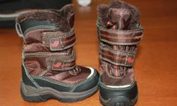 Boys Size 5 Winter Boots Maybe worn 2 times at the most. In new condition