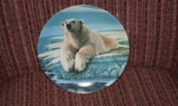 I have many Bradford Exchange Plates for sale. Wolves, Polar Bear, Elk and more.