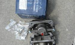 2 new still in original box front brake calipers. These fit 2001-2005 Honda civic and Acura. May possibly also fit other years. Perfect for some one that want's to do a low cost complete brake job. Asking $ 95.00 for both. These also include new slider