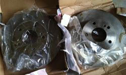 I have a pair of brake disc. I bought it for my Infinity i30 1998. These are NEW ones. I am attaching some pictures. Please email or leave only text to the number given. Willing to deliver for extra $$$ depends on the distance. Thanks for the interest in