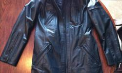 Band new NEVER Been worn Danier leather jacket.. Black size small $150 obo paid $300 for it... Great Christmas gift 705-770-3990 This ad was posted with the Kijiji Classifieds app.