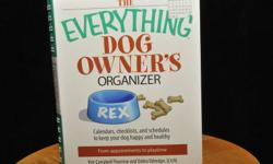 Brand new Dog Owner's Organizer $4.00