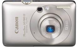 New Canon PowerShot SD780IS 12.1 MP 3x Optical Zoom Digital Camera -  Available in Red & Silver Items Included: Canon SD780IS - RED nb-6l battery ac adapter rca/usb cable a/v cable camera strap software disc owners manual original box Feature-rich and