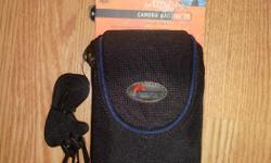 I have a Brand New Lowepro Camera Case for sale! This is in excellent condition and would look great in your home or to give as a gift. Comes from a non-smoking household. Do not miss out on this excellent opportunity to get this for a fraction of the