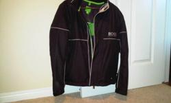 Brand new never worn men's Hugo Boss Jacket, size small. Just bought at Harry Rosen for $550. Has original tags on it. Asking $440 OBO. If interested please contact: 780-906-4526.