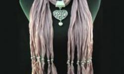 I have several brand new Necklace Scarves. Different colors with different pendants. They make great Christmas Gifts or just for yourself and are $20 each. If you are interested, please email me.
