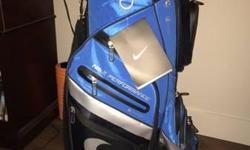 Brand new with tags Nike carry bag. Retails at $240 plus tax. Asking $175 Will deliver