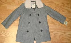 I have a Brand New Osh Kosh Coat Winter Grey Size 4T Toddler for sale! This is in excellent condition and would look great in your child's room or to give as a gift. Comes from a non-smoking household. Do not miss out on this excellent opportunity to get