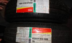 2 Marshall Tire - Brand New P235/75 R15 105S Mint Condition, Never been used. Please Contact 647-856-2991