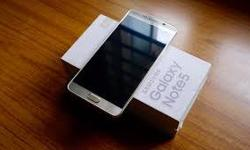 Sale brand new Samsung Galaxy Note 5.64gig titanium silver.. . Comes with original box and accessories including sealed earphones.Never used.Locked to Rogers,if want unlock cost 40 cad. Make me offer? Don't lose my time. Need serious people