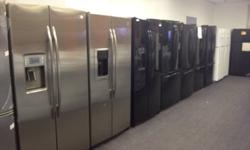 BRAND NEW SCRATCH N DENTGE APPLIANCES 30- 40% + OFF RETAIL PRICE GE / GE PROFILE STAINLESS STEEL BLACK WHITE FRIDGESSTOVESDISHWASHER WASHERDRYER COOKTOP STOVESOver The Range Microwave FREEZERS TOP LOAD WASHERS $299.99DRYERS starting from $249.99 STOVES