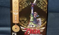 Brand New Zelda Skyward Sword Limited Edition Gold Wii Remote Plus & Original Sound Track CD Located near Toronto Eaton Ctr. Pickup only.
