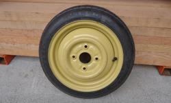 """One Temporary Use Spare Tire - General 13"""" T105/80 - 13"""" Off a Chevy Sprint, but will also fit Pontiac Firefly & Geo Metro Located in Chemainus"""