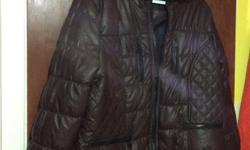 One dark brown and one black with some red Good for early spring or late fall. Brand new Size 2X, but fit 1X or XL