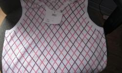 BRAND NEW with tags Women's ARGYLE vest size large Brand - International Tours Izod Club Retails $77 + - letting go for ONLY $15 EXCELLENT PRICE Can meet in west end of ottawa (kanata) or pickup in Constance Bay