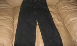 BRAND NEW (WOT) boys black jeans Size 5 Extendable waist Son never got to wear them!!! Paid $20 for the jeans Letting go for ONLY $10 can meet in west end of ottawa (kanata) or pickup in Constance bay