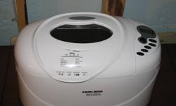 All-in-one Horizontal deluxe  bread maker excellant condition  $30 or BO