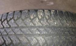 4 Bridgestone Dueler A/T tires, less than 10,000 k on them, good shape. P265/70/17 $450.00 for 4 please call 624-8517