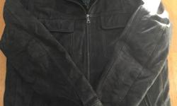 Brand of the jacket is Danier Leather. Size is Mens Medium. Jacket also comes with a second zipper (inside layer, shown in picture below) Jacket is in great condition. Pick up only. Asking $50 for the jacket. Contact Nick. Thanks.