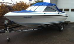BRYANT 160BR - OUTBOARD PACKAGE. BOAT RUNS GREAT, EXCELLENT DEEP HULL. RECENTLY SERVICED AND RUN, READY FOR IMMEDIATE DELIVERY. PRICE EXCLUDES TAXES AND TRAILER   CALL CHRIS 705-789-3932