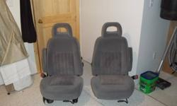 Bucket Seats, Grey Cloth Material excellent shape,   $75 OBO