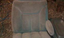 Full size Chev/GM bucket seats Grey Center console aswell