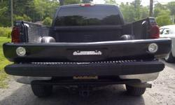 Have a custom front bumper for Chev or GM truck. Fits 88 - 98. New lights. Currently black in colour. $175. Will paint any colour at additional cost.