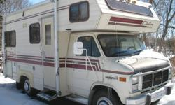 Must sell! New lower price- $5500.00 certified in summer of 2011, will recertify. 1986 Citation -Chevy.- C-Class- 350 eng.--120,000 km in excellent condition .? sleeps 6 -- 3 pc.. bath -- hot and cold running water--black and grey water tanks-- 3-way