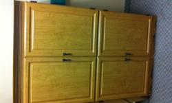 Nice cabinet, used to be a TV cabinet but can be used for other storage. Email for info.
