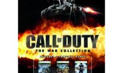 Awesome Games! In great shape, just don't play them anymore. All come in Original case with book unless stated otherwise   $15 ? Call of Duty 4 Modern Warfare $40 ? Call of Duty - The War Collection  ? Includes COD 2,3 & World at War $20 ? Dirt 2