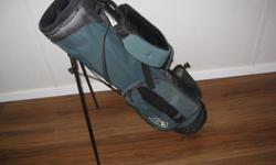 Calloway stand golf bag, green colour and in great condition. Inside divider making four compartments. Price is firm.