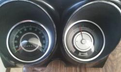 1967-68  CAMARO / FIREBIRD  instrument cluster  has a 1967 speedometer and  1968 fuel gauge  ( see pics )  good condition and works good  asking  $60      if interested call   780  975-9771