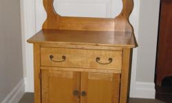 Pine washstand c/w harp $125.00 Two Drawer Dresser $150.00 Bookshelf $300.00