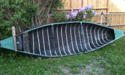 12ft needs seats and oars. $250 obo. Please call Herb at 613 829 5924