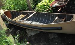 Aluminium canoe 14ft